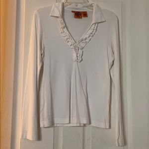 Tory Burch long sleeve blouse EUC condition size M